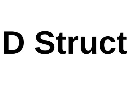 D Struct
